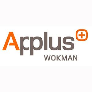 Applus+ Wokman logo