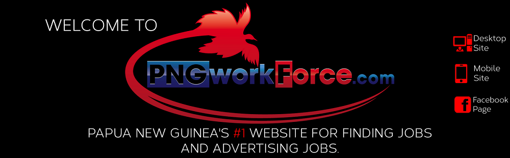 View the latest jobs advertised in Papua New Guinea & the